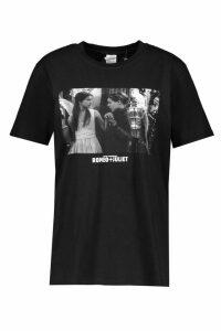 Womens Romeo And Julliet Licenced T-Shirt - black - S, Black