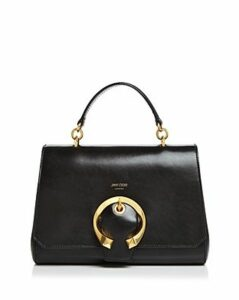 Jimmy Choo Madeline Medium Top-Handle Leather Handbag