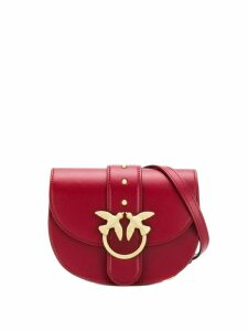 Pinko Baby Round Simply shoulder bag - Red