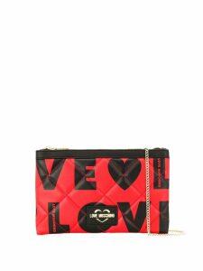 Love Moschino LOVE clutch bag - Black