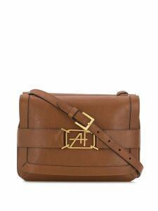 Alberta Ferretti flap shoulder bag - Brown