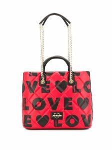 Love Moschino Love shopper tote - Red