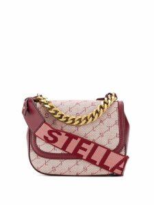 Stella McCartney monogram logo shoulder bag - Red