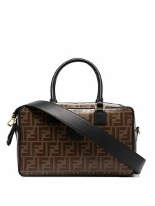 Fendi Boston FF tote bag - Brown