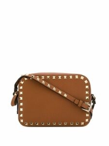 Valentino Valentino Garavani Rockstud mini bag - Brown