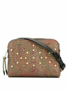 Etro paisley camera bag - Brown