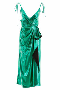 The Attico Laminated Dress