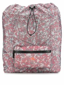 adidas by Stella McCartney all-over print gym backpack - Red