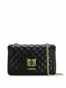 Love Moschino quilted shoulder bag - Black