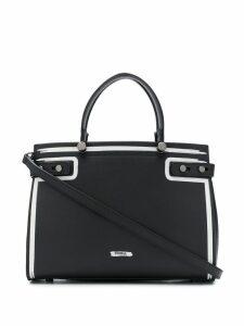 Furla lady m contrast-trim bag - Black