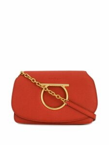 Salvatore Ferragamo Gancini mini bag - Orange