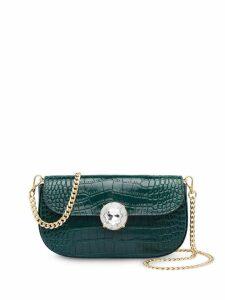 Miu Miu crocodile effect mini bag - Green