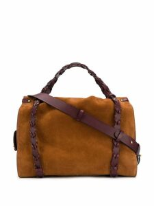 Jérôme Dreyfuss classic top-handle tote - Brown