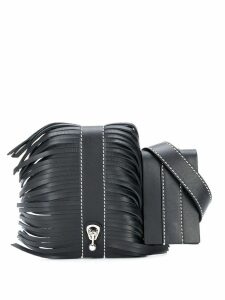 Ermanno Scervino fringed belt bag - Black
