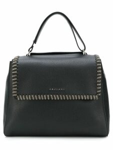Orciani chain trim tote - Black
