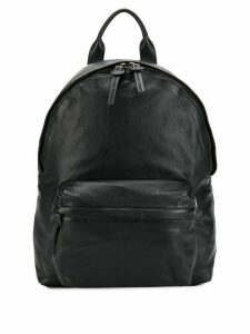 Officine Creative plain backpack - Black