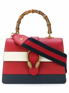 Gucci Dionysus leather top handle bag - Red