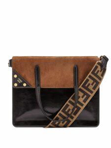 Fendi Fendi Flip shoulder bag - Black