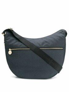 Borbonese medium Luna shoulder bag - Black