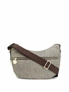 Borbonese small Luna bag - Neutrals