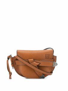 Loewe Gate Western mini bag - Brown
