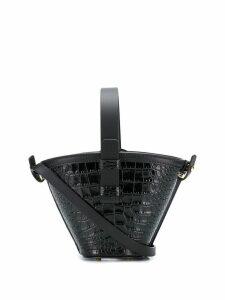 Nico Giani Nelia mini croc bag - Black