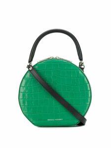 Rebecca Minkoff croc-effect circle bag - Green