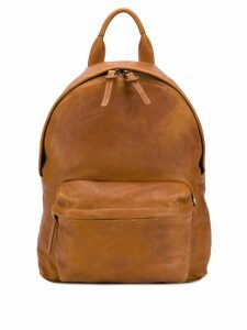 Officine Creative leather backpack - Brown
