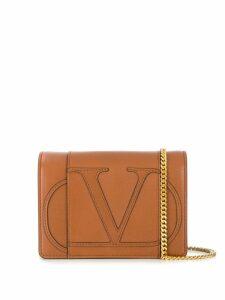 Valentino Valentino Garavani Go Logo shoulder bag - Neutrals