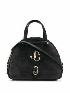 Jimmy Choo small Varenne Bowling bag - Black