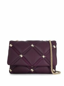 Salvatore Ferragamo quilted shoulder bag - Purple