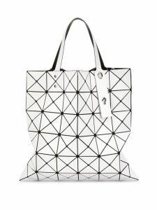 Bao Bao Issey Miyake geometric tote - White