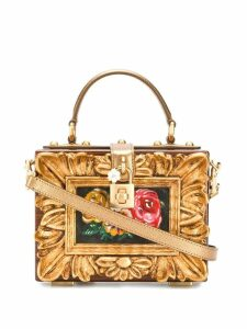 Dolce & Gabbana painting-look tote bag - Brown