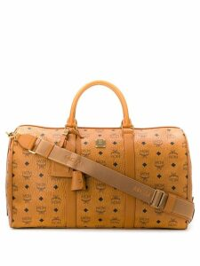 MCM Voyager Edium luggage bag - Neutrals