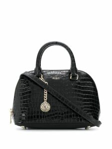 DKNY embossed Bryant tote bag - Black