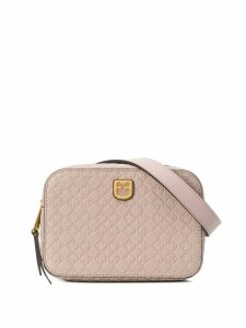 Furla logo embossed belt bag - Neutrals