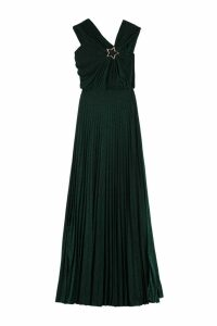 Elisabetta Franchi Celyn B. Draped Asymmetric Dress