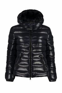 Moncler Bady Hooded Quilted Down Jacket