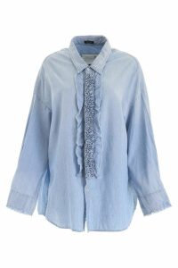 R13 Ruffled Shirt