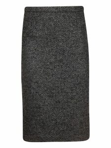 RED Valentino Stitched Skirt