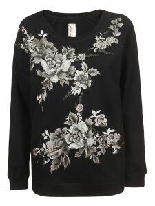 Antonio Marras Floral Sweatshirt