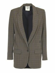 SEMICOUTURE Flannel Check Jacket