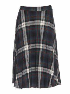 SEMICOUTURE Tartan Pleated Skirt
