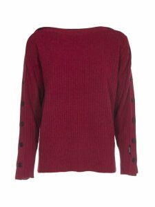 Calvin Klein Bordeaux Wool Sweater