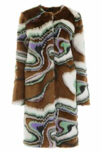 Marco de Vincenzo Faux Fur Coat