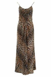 Ganni Leopard-print Dress