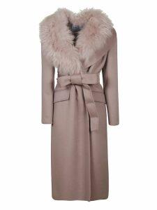 Prada Cashgora Long Coat
