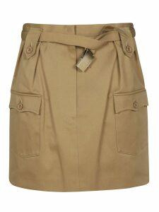 Miu Miu Belted Skirt