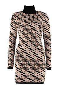 Elisabetta Franchi Celyn B. Knitted Jacquard Dress