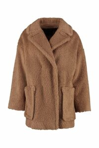 Weekend Max Mara Affine Faux Fur Coat
